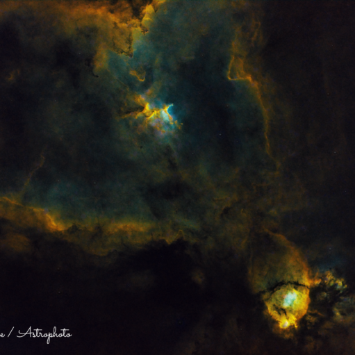IC 434 :  The Heart Nebula