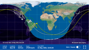 Live Space Station Tracking Map